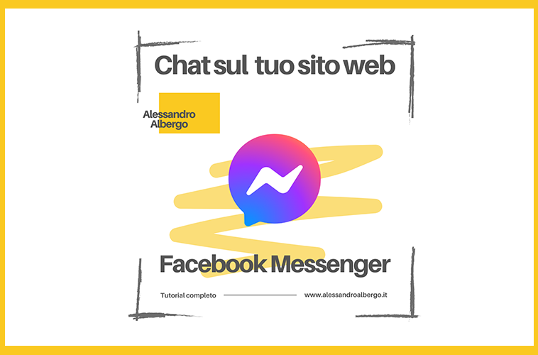 Facebook Messenger sul tuo sito web