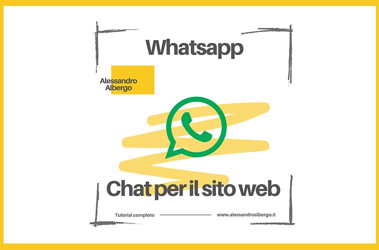 Chat Whatsapp per il sito Web