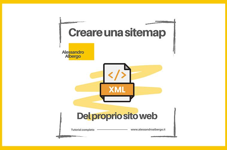 Creare la sitemap del sito web